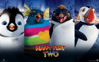 Happy Feet Two Characters wallpapers and stock photos