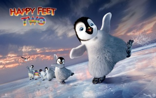Happy Feet Two Skating wallpapers and stock photos