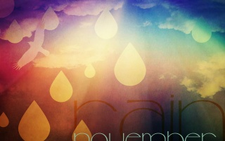 November Rain wallpapers and stock photos
