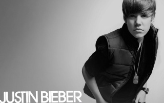 Justin Bieber Black and White wallpapers and stock photos