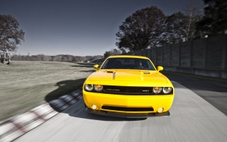 Random: 2012 Dodge Challenger SRT8 392 Yellow Jacket Front