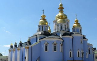 Kiev Church wallpapers and stock photos