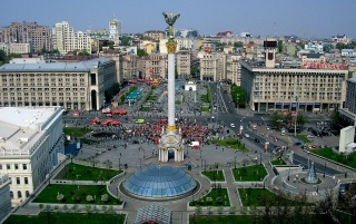 Kiev Square wallpapers and stock photos