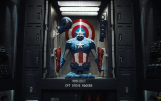 Random: Captain America Costume