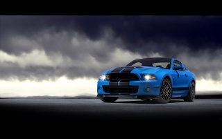 2013 Blue GT Front Angle wallpapers and stock photos