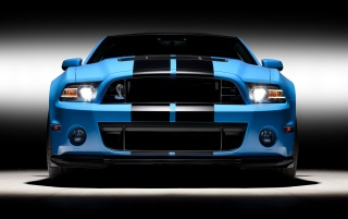 Previous: 2013 Blue Shelby GT Front Studio