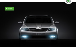 Skoda mission L wallpapers and stock photos