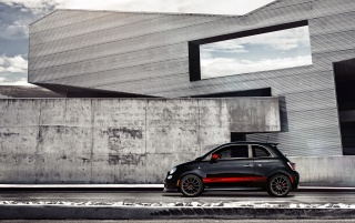 Fiat 500 Abarth Architecture wallpapers and stock photos