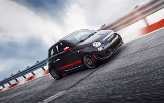 Fiat 500 Abarth Race wallpapers and stock photos