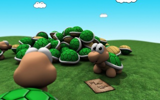 Mario turtles wallpapers and stock photos