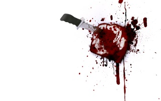 Knife and blood wallpapers and stock photos