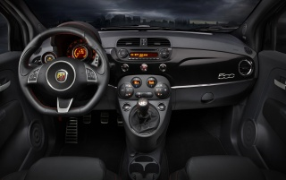 Fiat 500 Abarth Dashboard wallpapers and stock photos