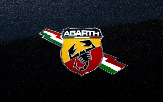 Fiat 500 Abarth Emblem wallpapers and stock photos