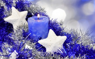 Christmas Candle wallpapers and stock photos