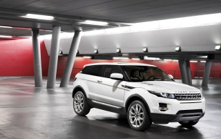 2011 Range Rover Evoque Parking wallpapers and stock photos