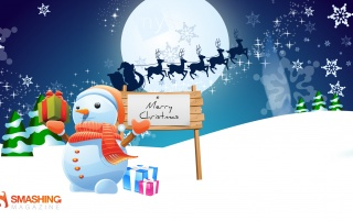 Mister Snowman wallpapers and stock photos