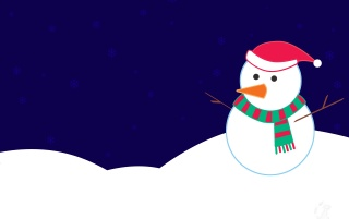 Christmas Snowman wallpapers and stock photos