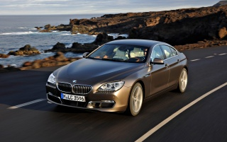 Random: BMW 6 Series Gran Coupe Front Speed