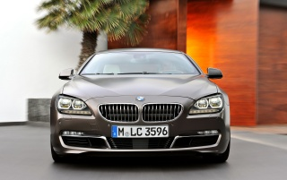 BMW 6 Series Gran Coupe Front wallpapers and stock photos