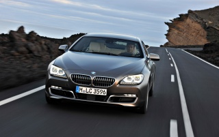 BMW 6 Series Gran Coupe Front Tilt wallpapers and stock photos