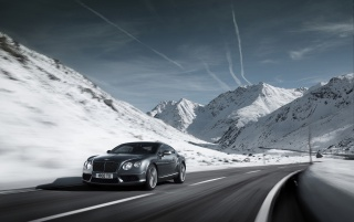 Bentley Continental GT V8 Gray wallpapers and stock photos
