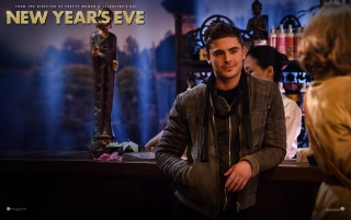 New Year's Eve Zach Efron wallpapers and stock photos