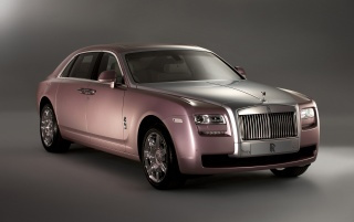 Rolls Royce Rose Quartz Ghost Front wallpapers and stock photos
