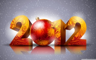 2012 New Year wallpapers and stock photos
