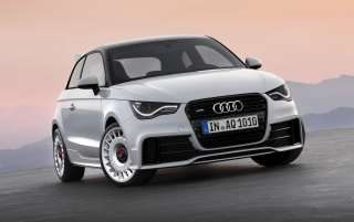 2012 Audi A1 Quattro Front wallpapers and stock photos