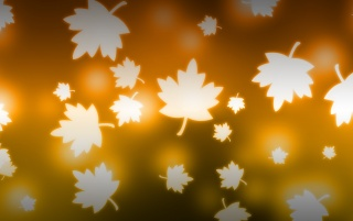 White leafs pattern wallpapers and stock photos