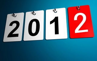 2012 Calendar wallpapers and stock photos