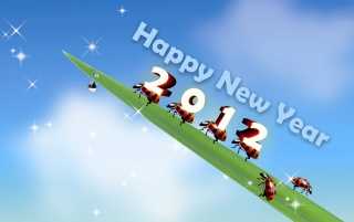 2012 The New Year wallpapers and stock photos