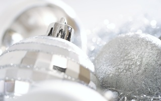 Silver Christmas wallpapers and stock photos