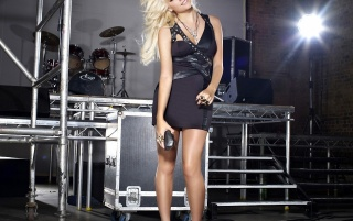 Pixie Lott Little Black Dress wallpapers and stock photos