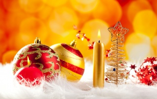 Red and golden ornaments wallpapers and stock photos