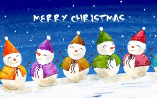 Christmas snowmen wallpapers and stock photos