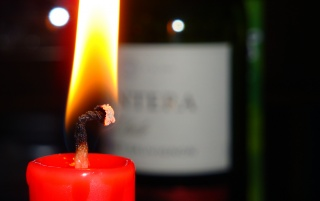 Candle and wine wallpapers and stock photos