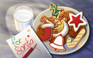 Sweets for Santa wallpapers and stock photos