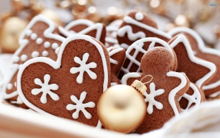 Gingerbread Cookies wallpapers and stock photos