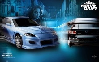 Tokyo Drift weiß wallpapers and stock photos