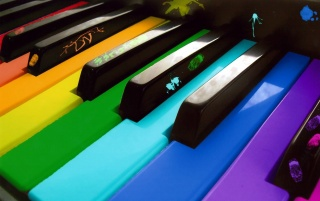 Colorful Piano wallpapers and stock photos