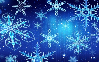 Shining Snowflakes wallpapers and stock photos