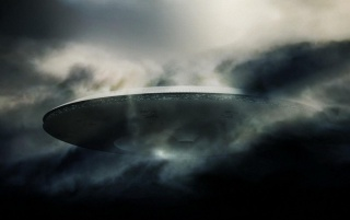 Dark UFO wallpapers and stock photos