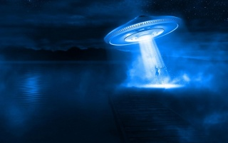 UFO Abduction wallpapers and stock photos