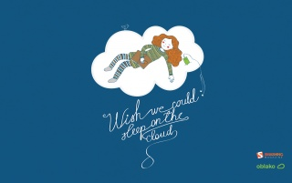 Sleep on the cloud wallpapers and stock photos