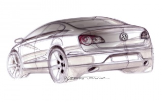 Passat drawing #1 wallpapers and stock photos