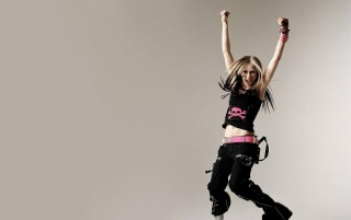Avrila Lavigne Happy wallpapers and stock photos