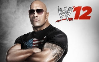 WWE 12 The Rock wallpapers and stock photos