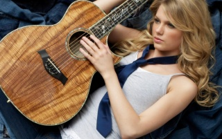 Taylor Swift Guitar wallpapers and stock photos