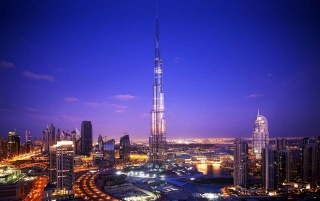 Khalifa Tower Dubai wallpapers and stock photos